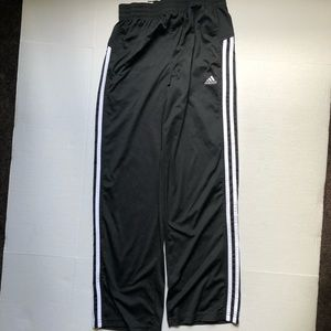 Adidas Track Pants with Pockets LARGE 14-16